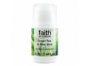 faith kulickovy deodorant green tea unisex 1229