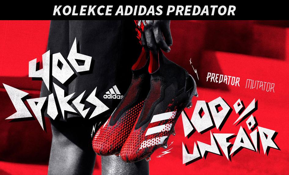 Nová kolekce kopaček adidas Predator
