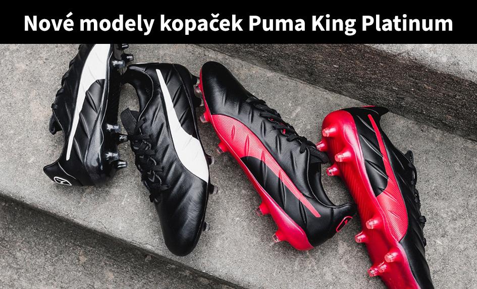 Nová kolekce kopaček Puma King
