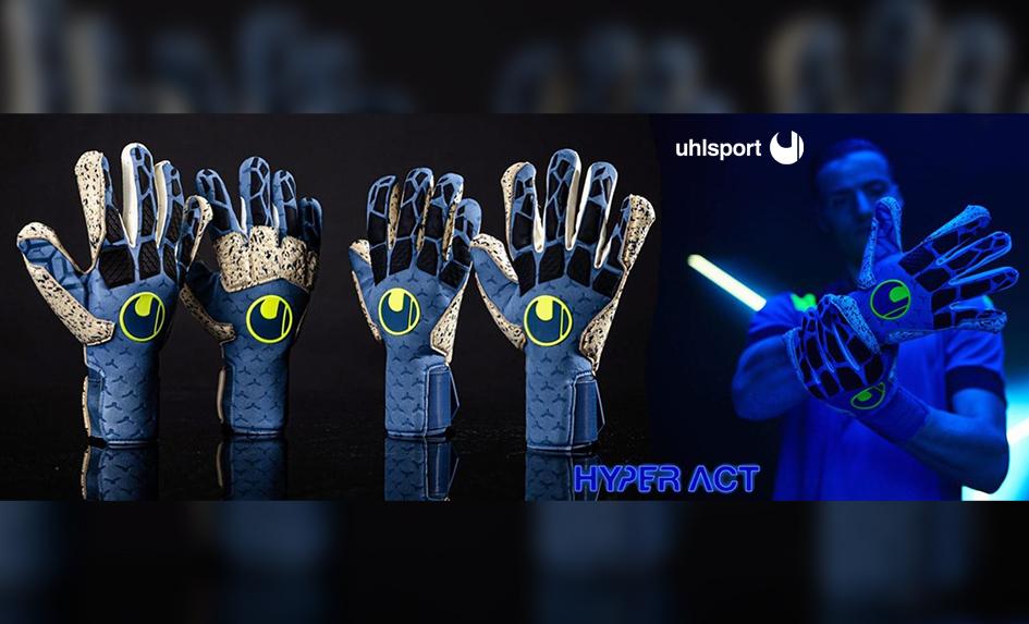 Nová kolekce rukavic Uhlsport Hyperact