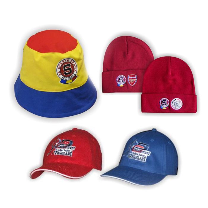 Čepice, kšiltovky a kloboučky
