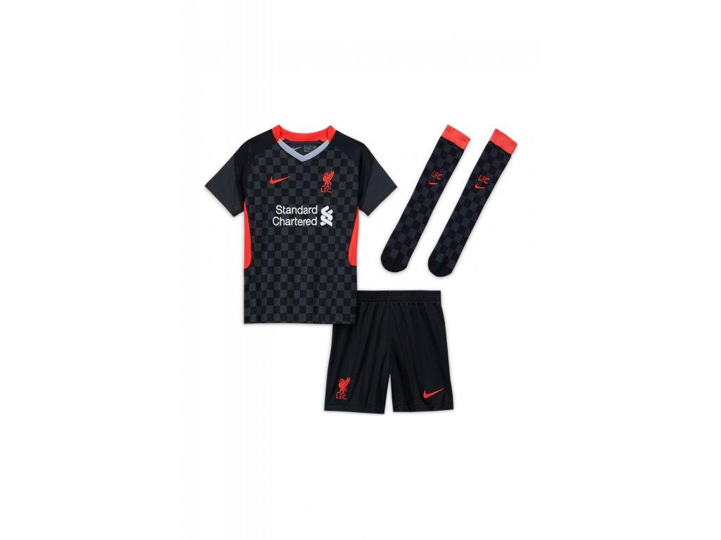 Komplet pro malé děti Nike Liverpool FC 3rd 2020/21 venkovní (3-8 let) (Velikost L)