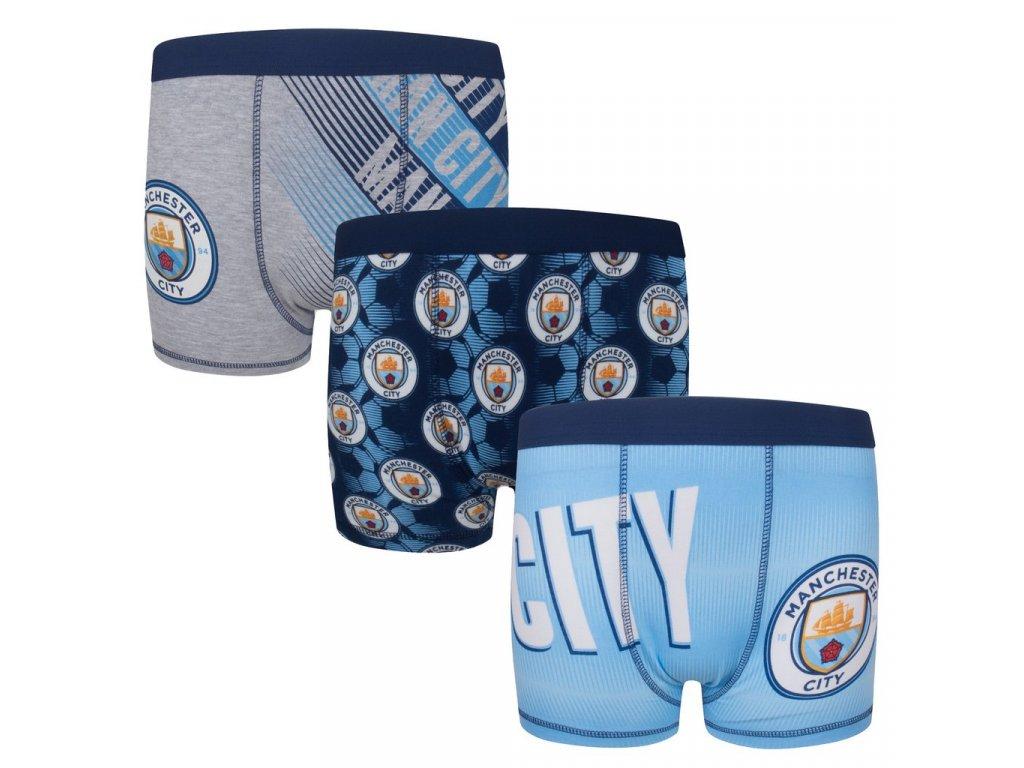 Dětské boxerky Manchester City FC 3pack