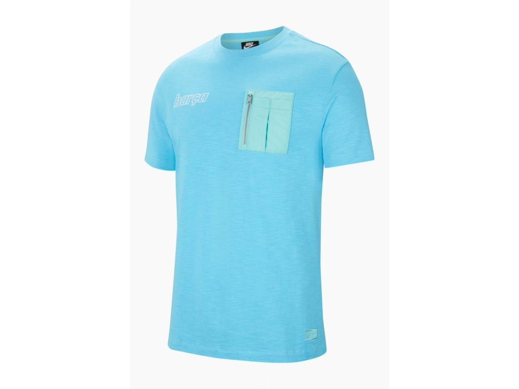 Pánské triko Nike FC Barcelona Sportswear Top