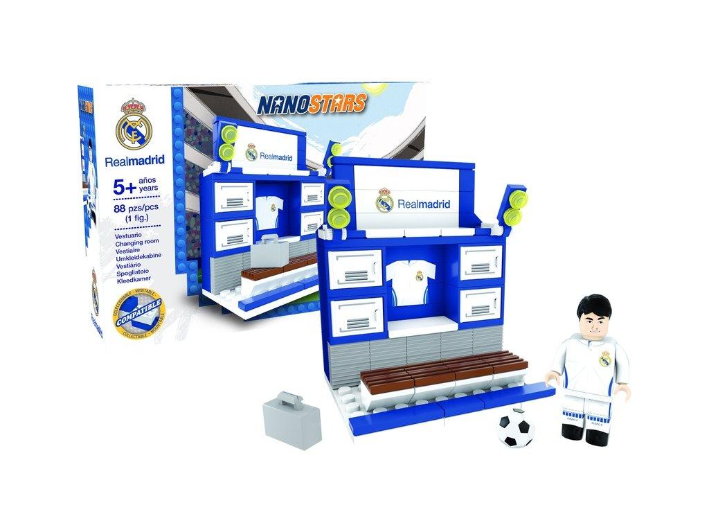 Stavebnice NANOSTARS Real Madrid CF - šatna