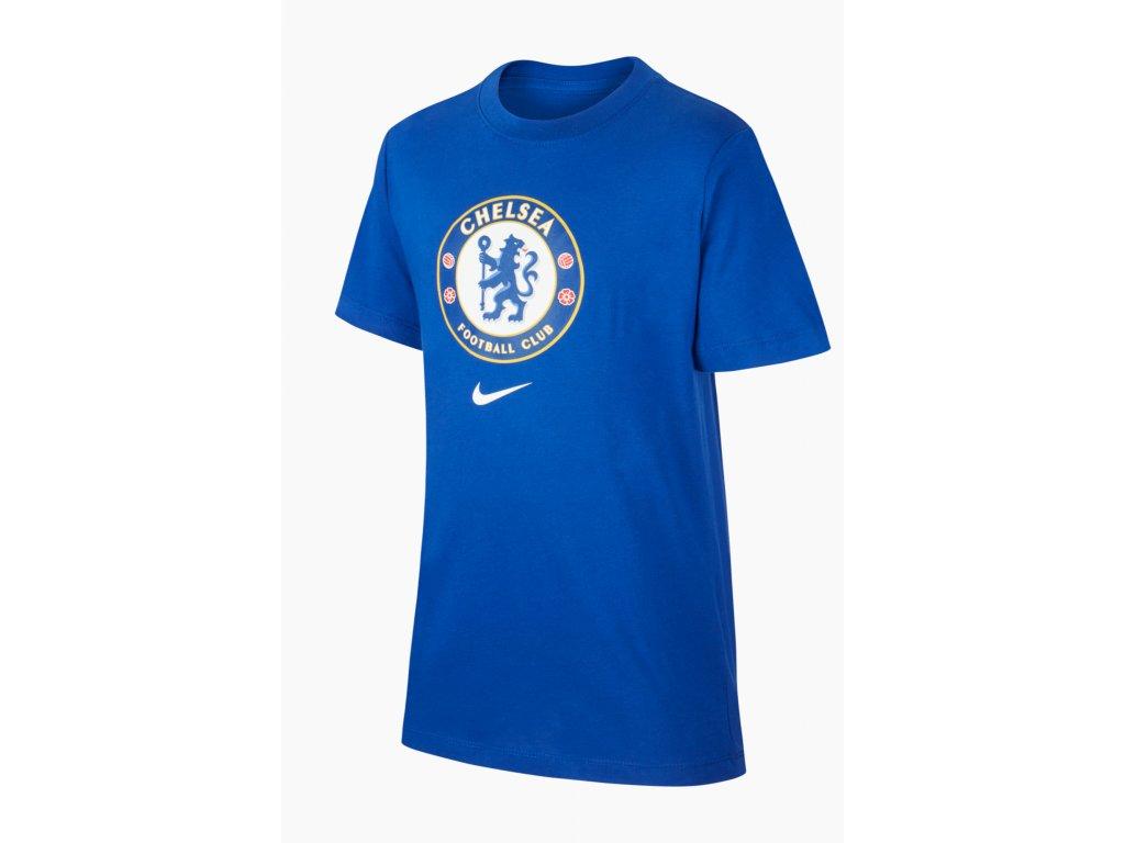 Dětské triko Nike Chelsea FC Tee Evergreen Crest