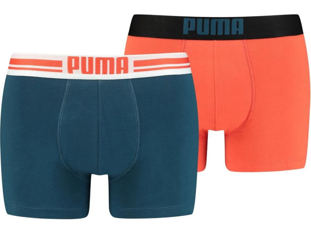 Pánské boxerky Puma Placed Logo Boxer (2 kusy)