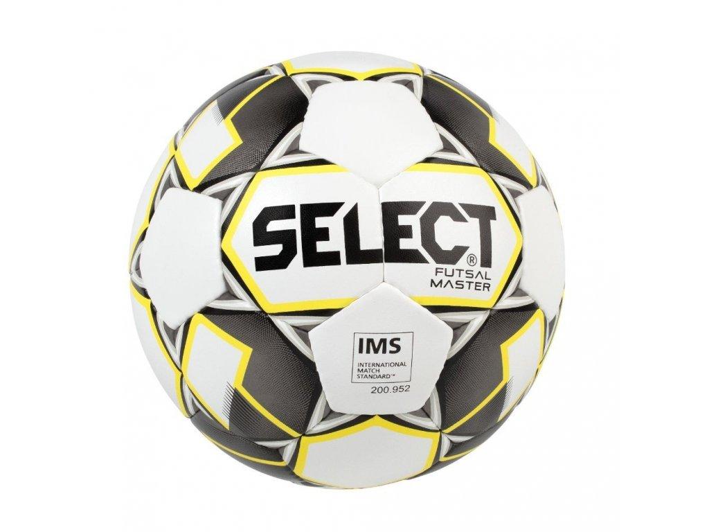 Select Futsalový míč FB Futsal Master bílo žlutá 4 (Velikost 4)