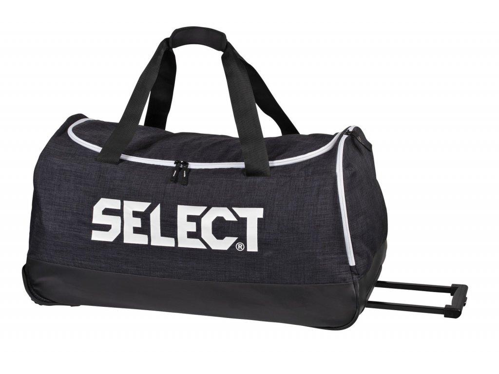Select Sportovní taška Teambag Lazio w/wheels černá 105 l (Velikost ONE SIZE)