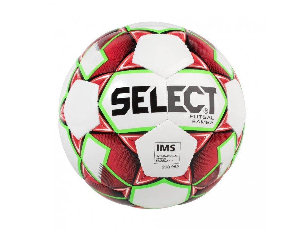 Select Futsalový míč FB Futsal Samba bílo červená 4 (Velikost 4)