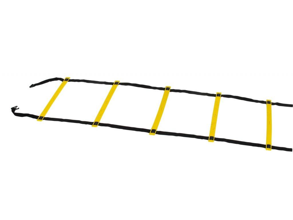 Select Tréninkový žebřík Agility ladder žlutá Jedna velikost