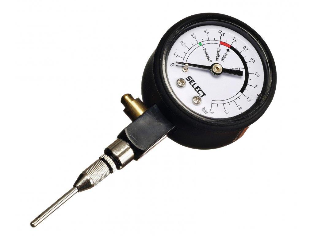 Select Tlakoměr Pressure gauge analogue černá Jedna velikost (BARVA Černá)