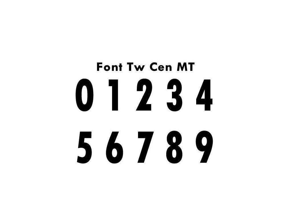 Potisky na sady dresů TW CEN MT 2-16