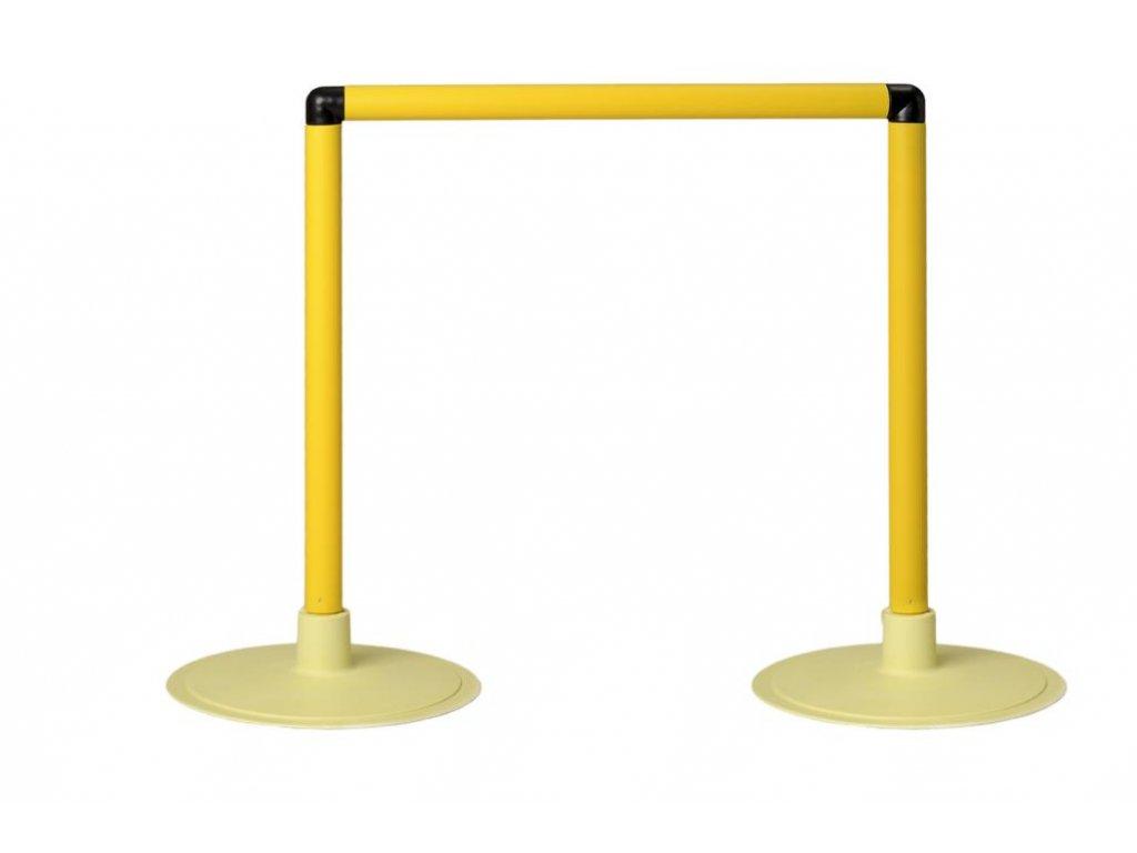 """Pevná překážka """"MACH"""" s plochou základnou - výška 45 cm"""