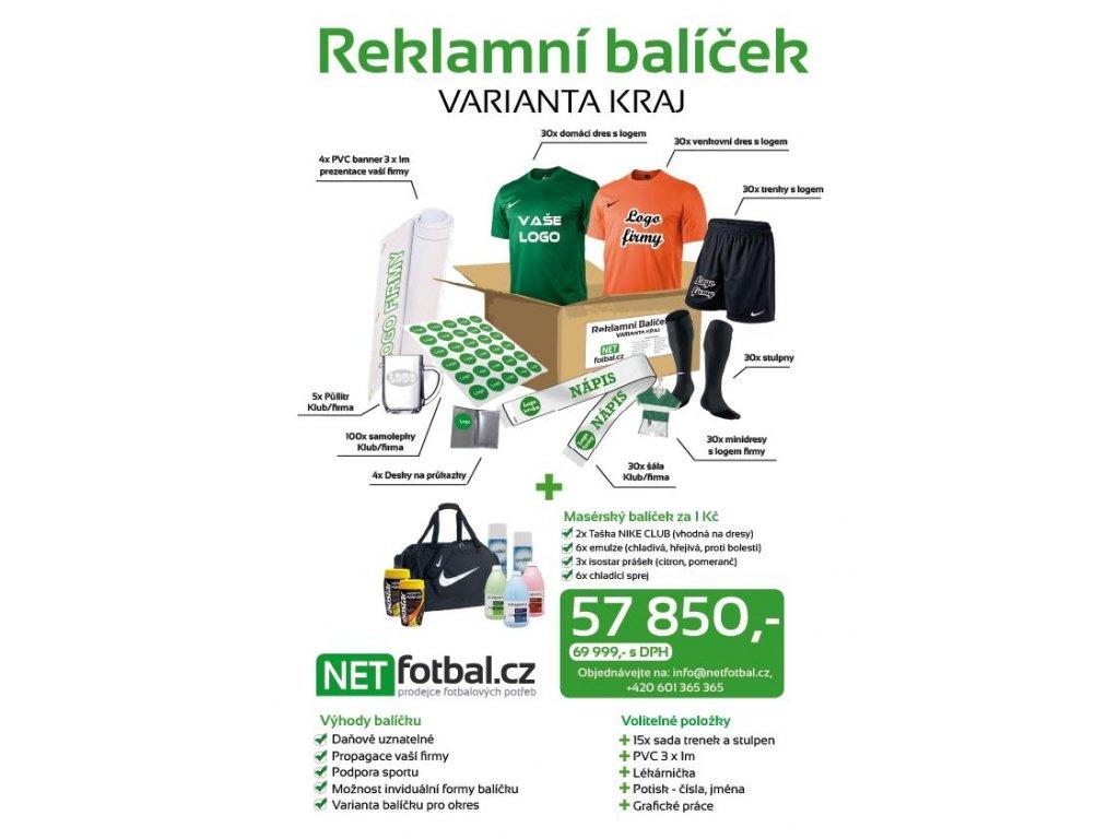 """Reklamní balíček """"KRAJ"""" (SmartSport Velikost oblečení Univerzální velikost)"""