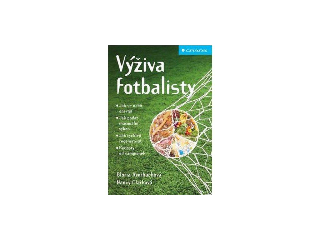 Kniha: Výživa fotbalisty (Velikost Univerzální)