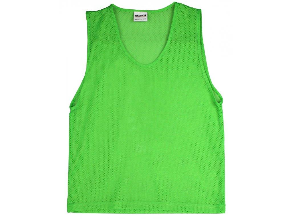 Rozlišovací dres - zelená