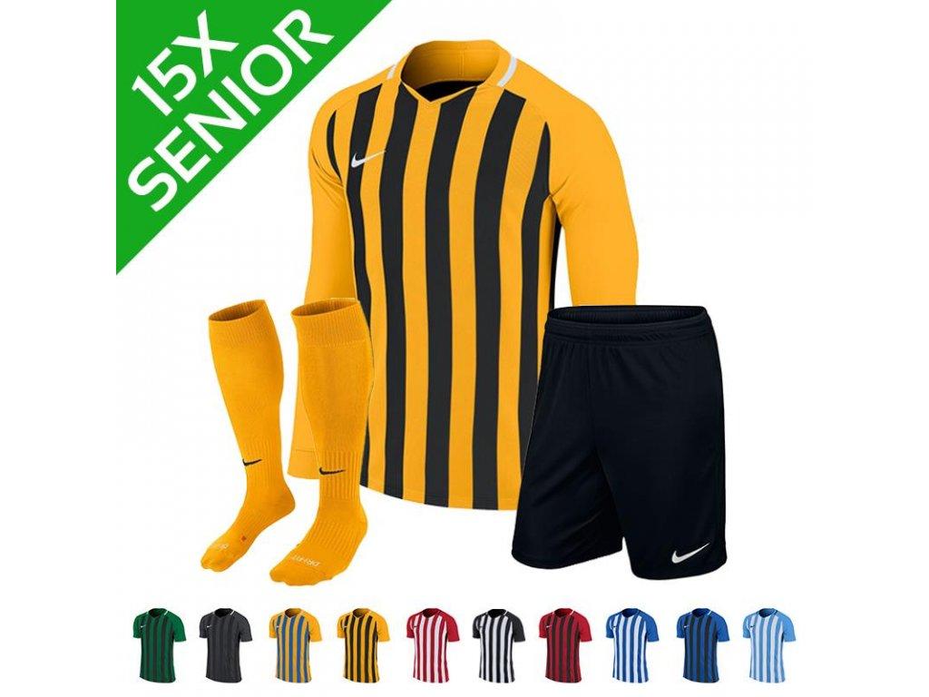 Sada dresů Nike Striped Division III dl.r. (15 ks)