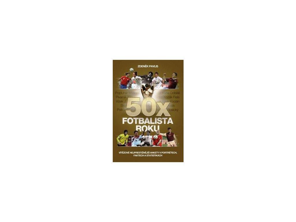 Kniha 50x Fotbalista roku (Velikost Univerzální)