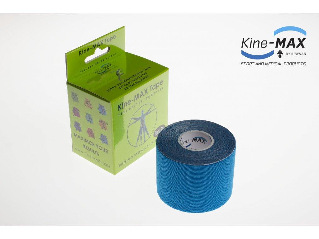 Kinesiologický tejp Super-Pro Rayon (Modrý) (Rozměr 5 cm x 5 m)