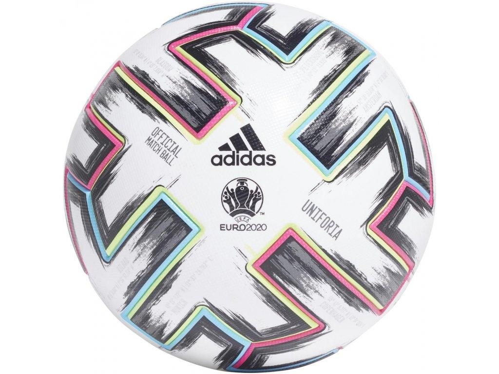 Míč adidas Uniforia EURO 2020 OMB - Akční set 3 Ks