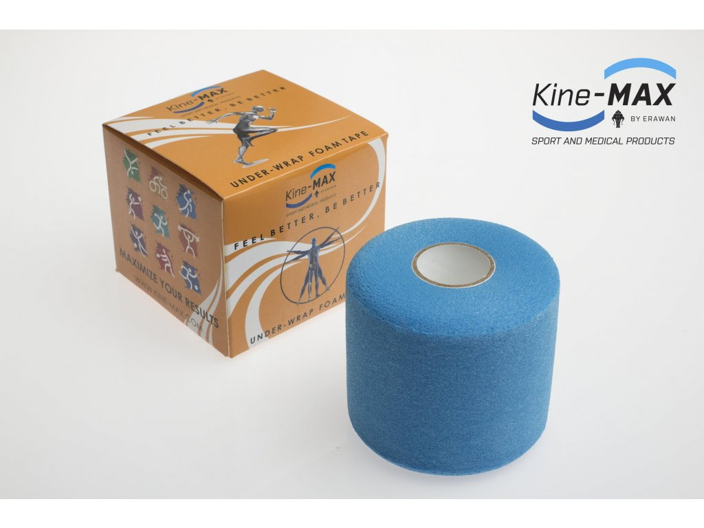 Podtejpovací páska 7cm x 27m (BARVA Modrá)