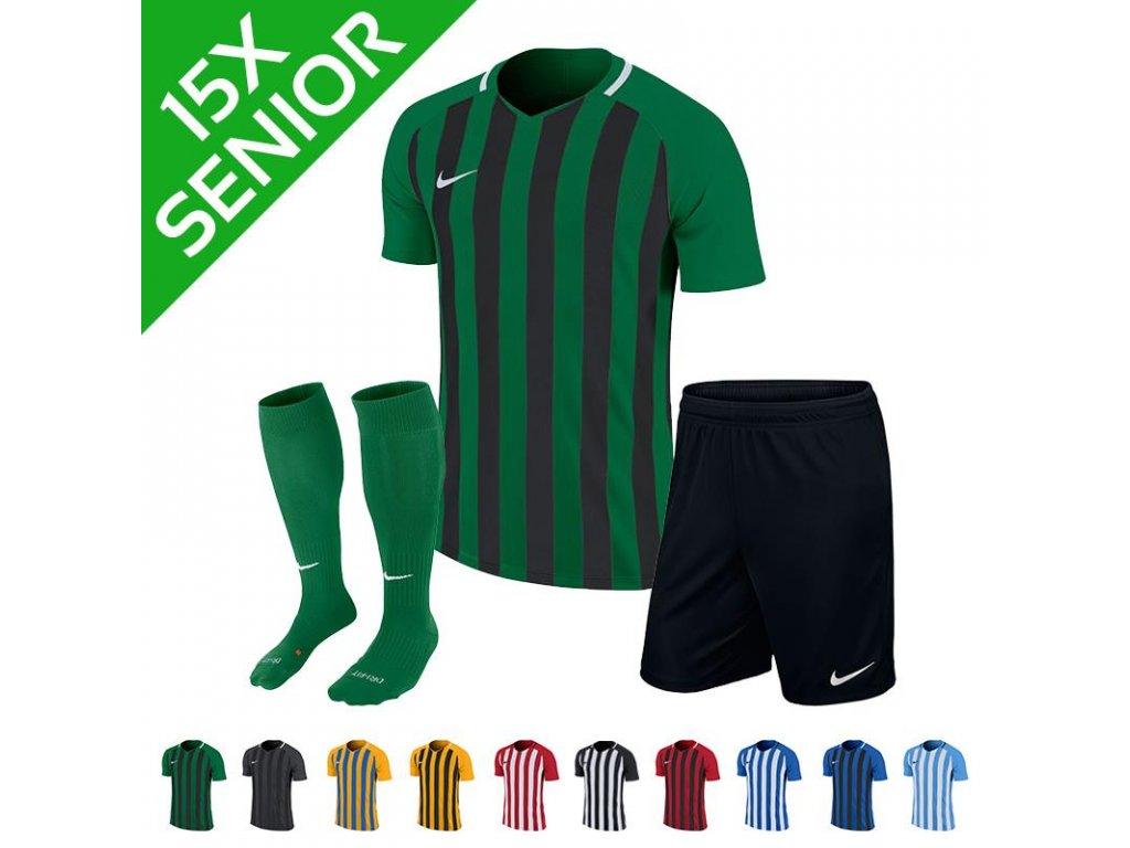 Sada dresů Nike Striped Division III (15 ks)