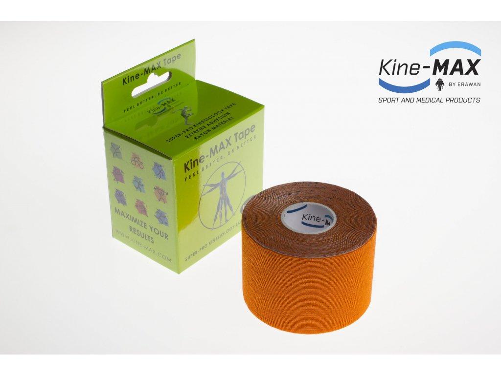 Kinesiologický tejp Super-Pro Rayon (Oranžový) (Rozměr 5 cm x 5 m)