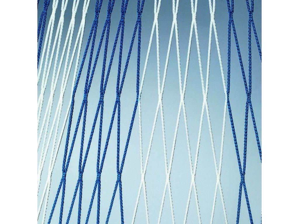 Bezuzlová vysokopevnostní síť 4 mm (dvoubarevná)