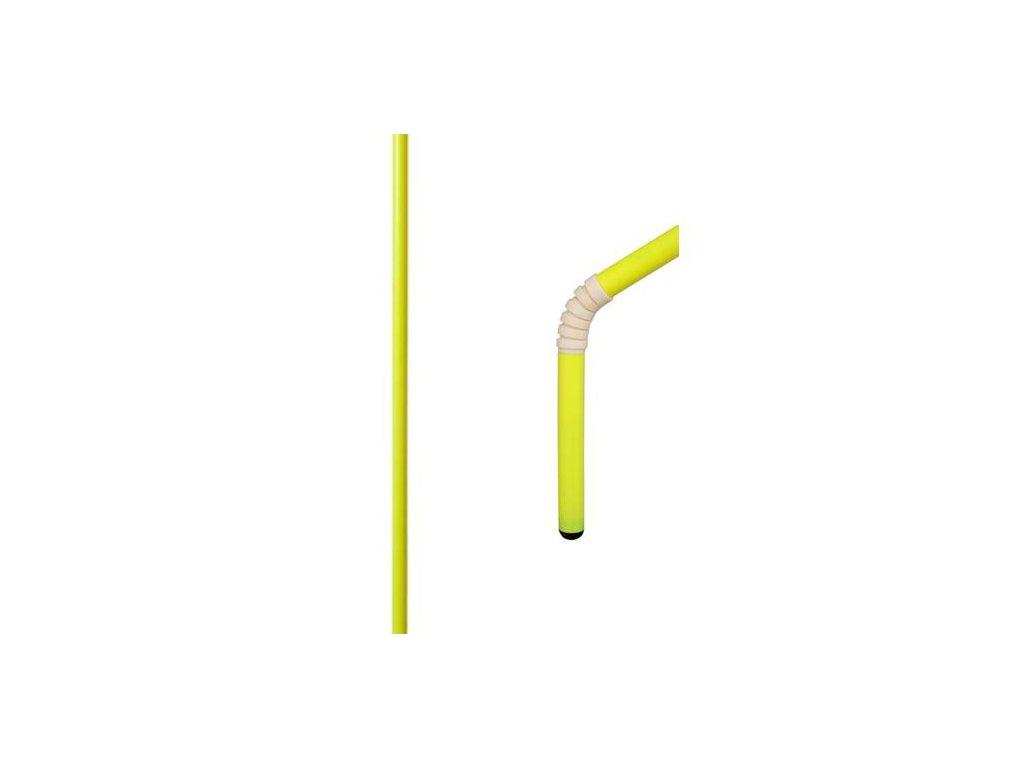 Rohová (slalomová) tyč s kloubem a s protiúrazovou úpravou 30 mm