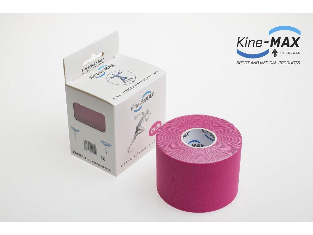 Kinesiologický Tape Stretch (dynamický) (BARVA Růžová)