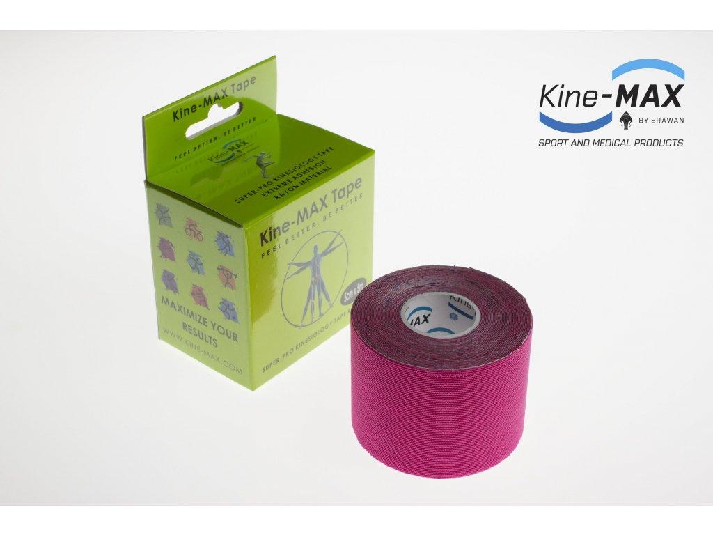 Kinesiologický tejp Super-Pro Rayon (Růžový) (Rozměr 5 cm x 5 m)
