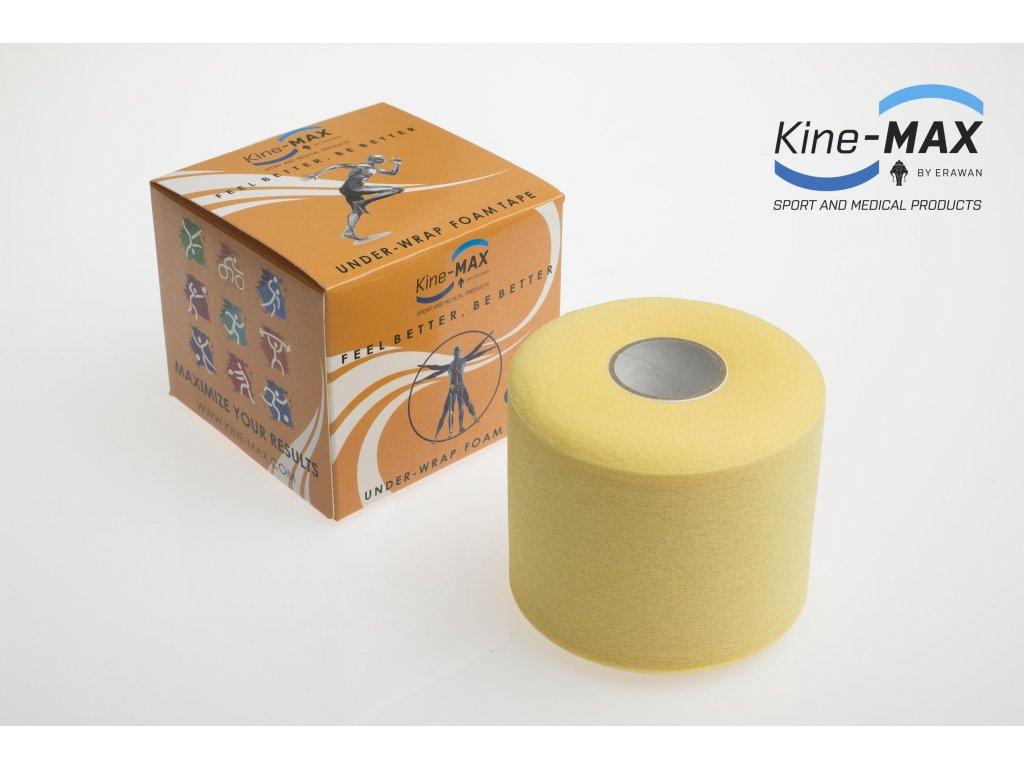 Podtejpovací páska 7cm x 27m (BARVA Žlutá)