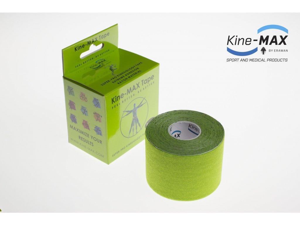 Kinesiologický tejp Super-Pro Rayon (Zelený) (Rozměr 5 cm x 5 m)