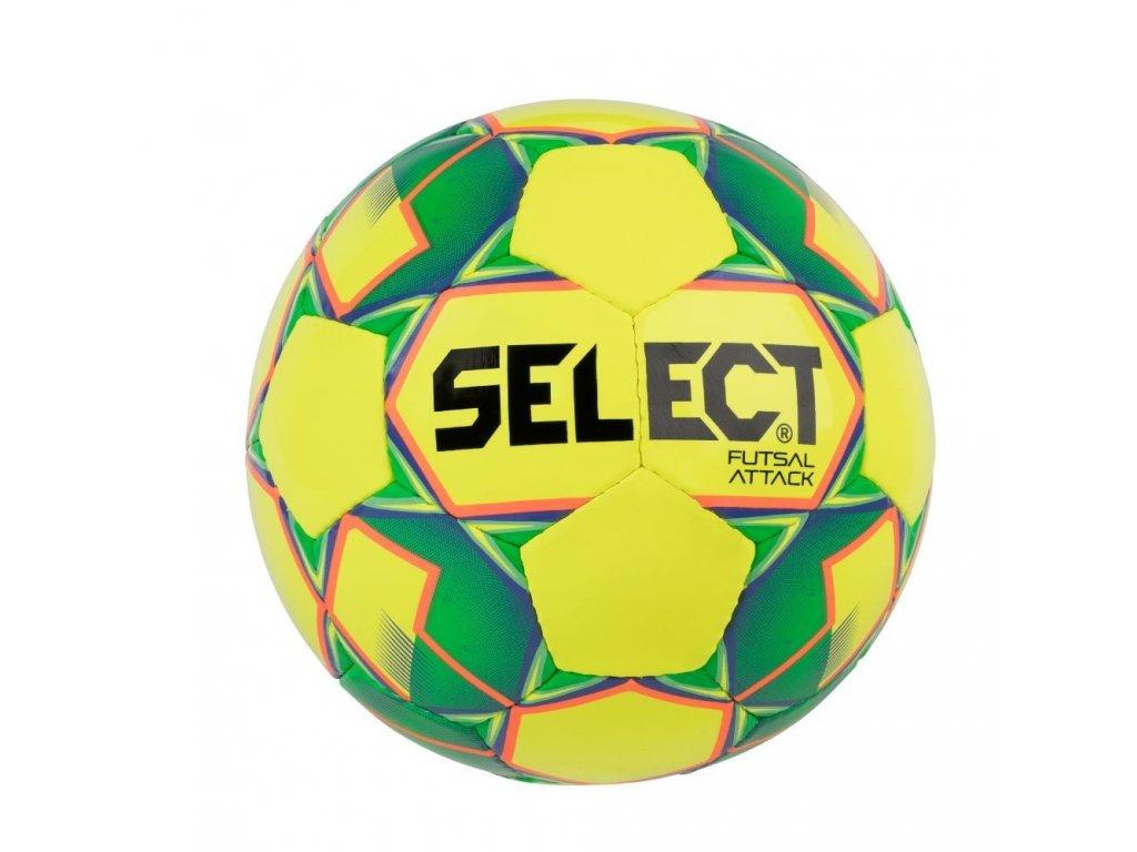 Select Futsalový míč FB Futsal Attack žluto zelená 4 (Velikost 4)