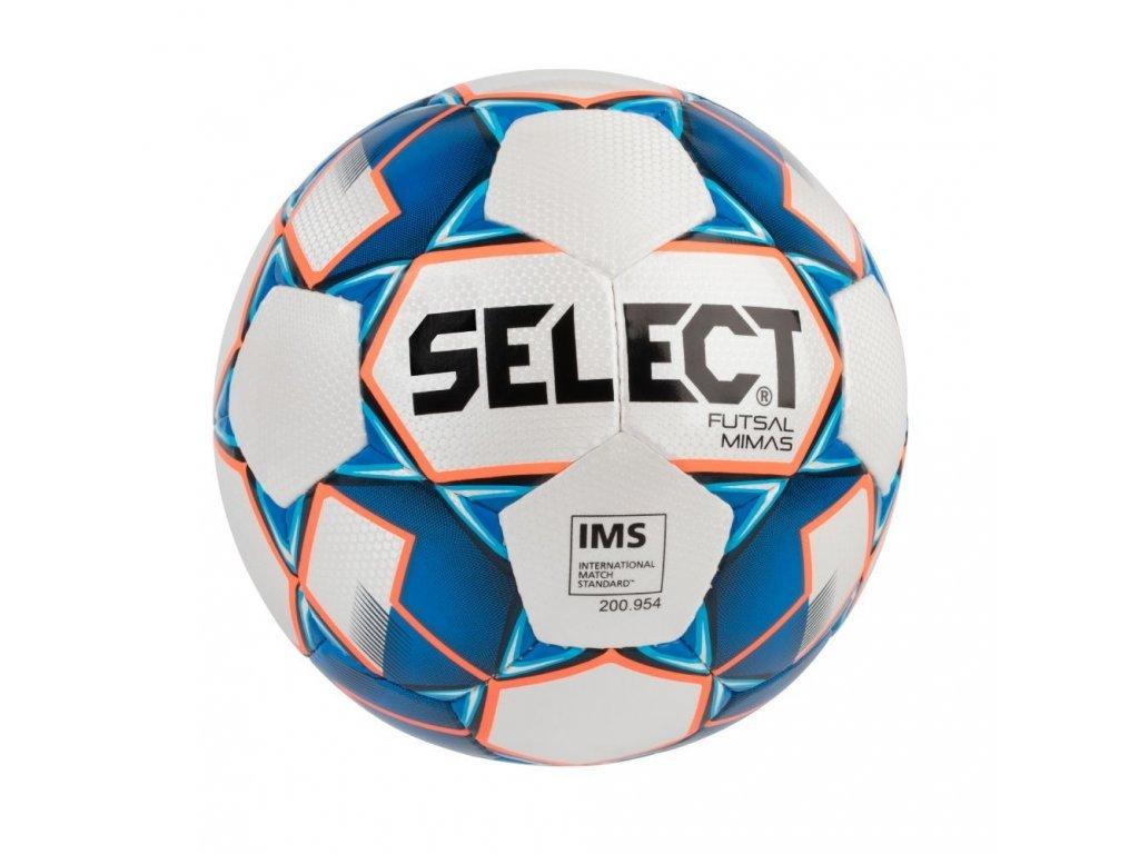 Select Futsalový míč FB Futsal Mimas bílo modrá 4 (Velikost 4)