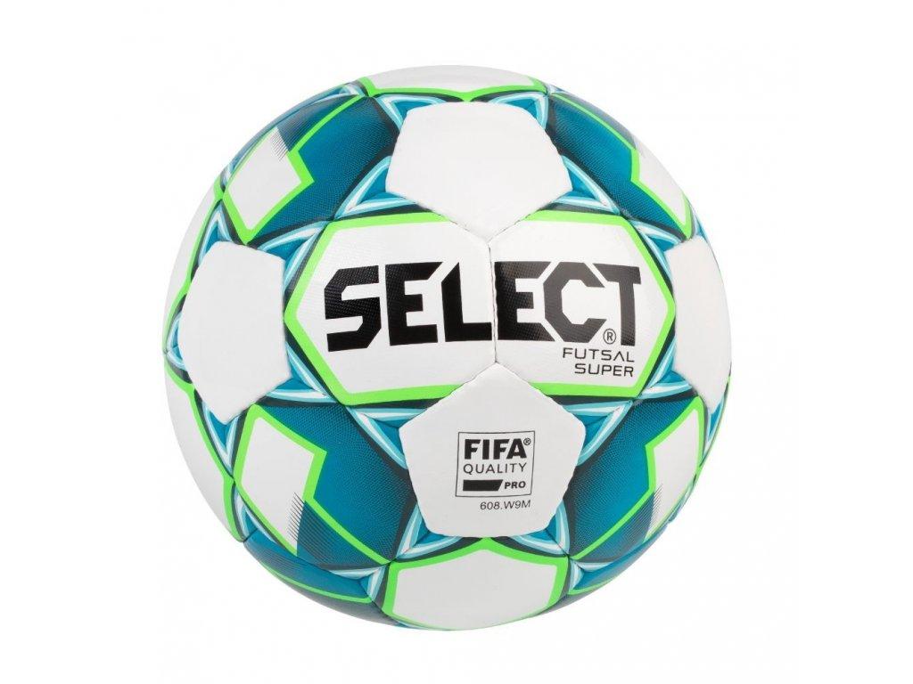 Select Futsalový míč FB Futsal Super bílo modrá 4 (Velikost 4)