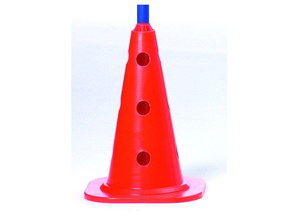 Select Značící kužel Marking cone s otovry červená Jedna velikost