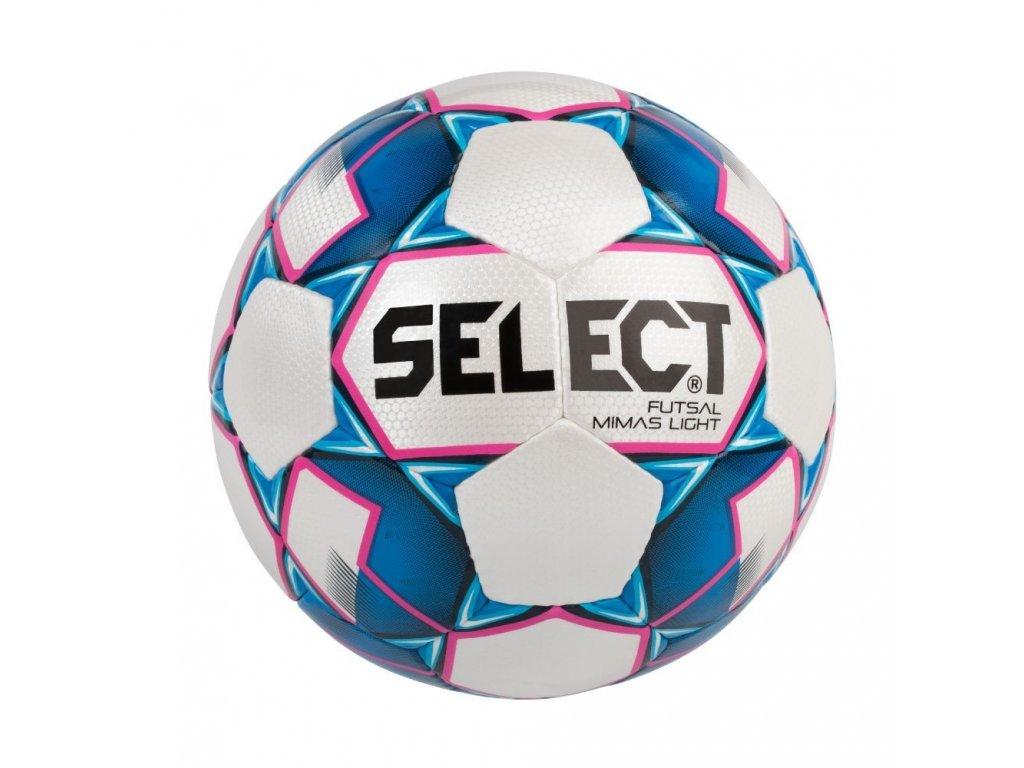 Select Futsalový míč FB Futsal Mimas Light bílo modrá 4 (Velikost 4)