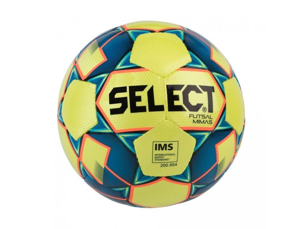 Select Futsalový míč FB Futsal Mimas žluto modrá 4 (Velikost 4)