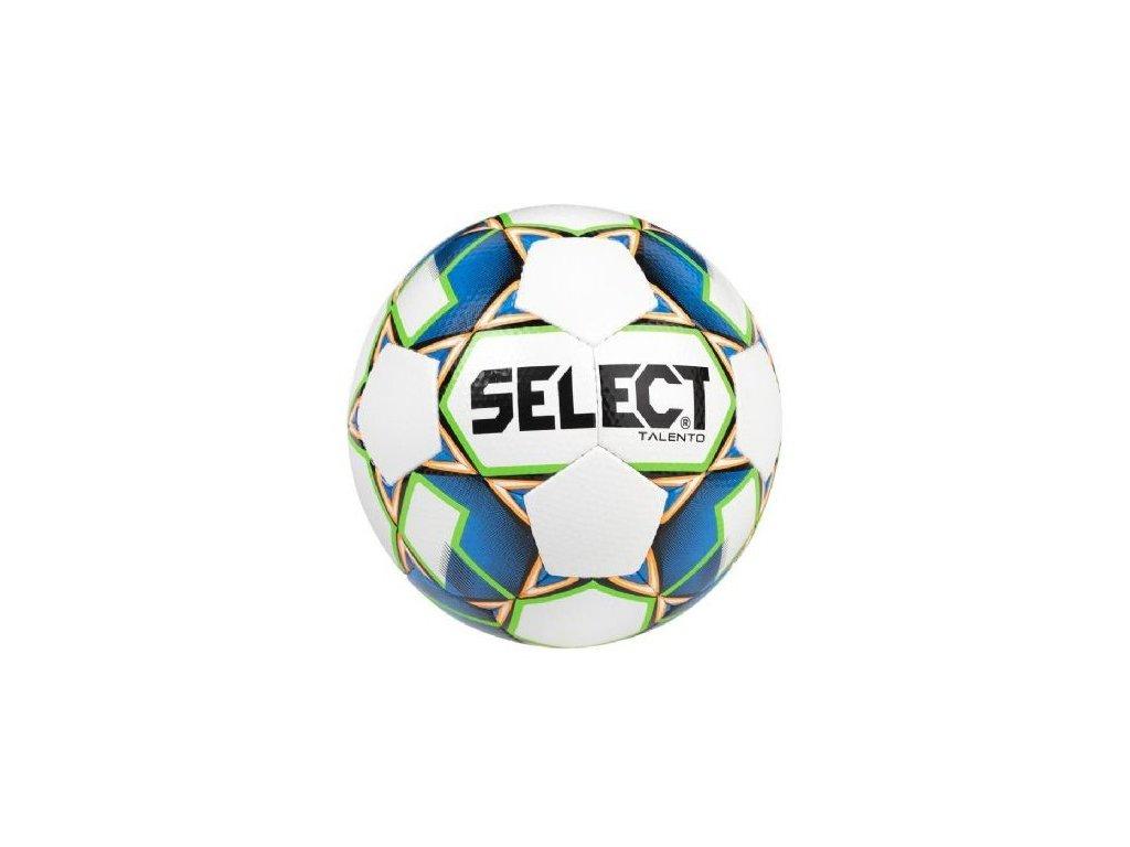 Select Fotbalový míč FB Talento bílo modrá 4 (Velikost 4)