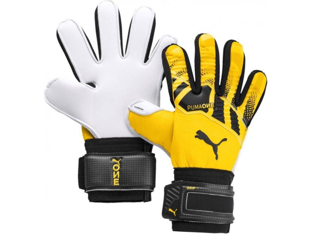 Dětské brankářské rukavice Puma One Grip 1 RC