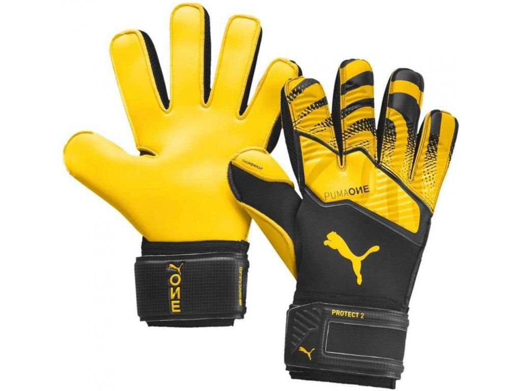 Brankářské rukavice Puma One Protect 2 RC