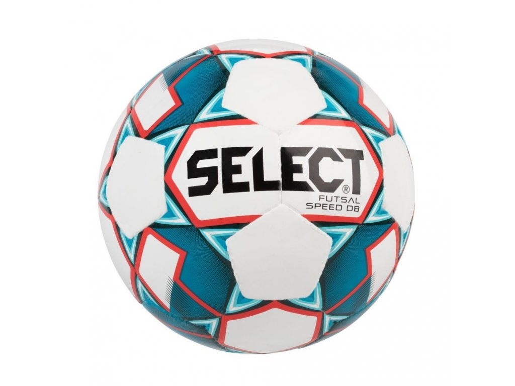 Select Futsalový míč FB Futsal Speed DB bílo modrá 4 (Velikost 4)
