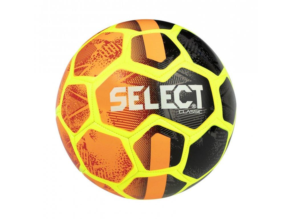 Select Fotbalový míč FB Classic oranžovo černá 4 (Velikost 5)