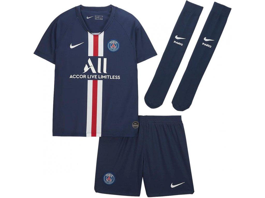 Komplet pro malé děti Nike Paris Saint-Germain 2019/20 domácí (3-8 let)