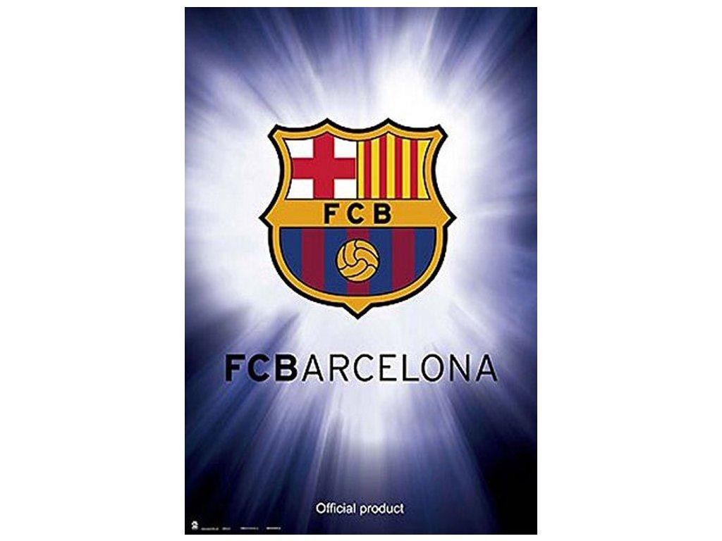 70168 plakat 61 x 91 5 cm barcelona fc znak 150 gr