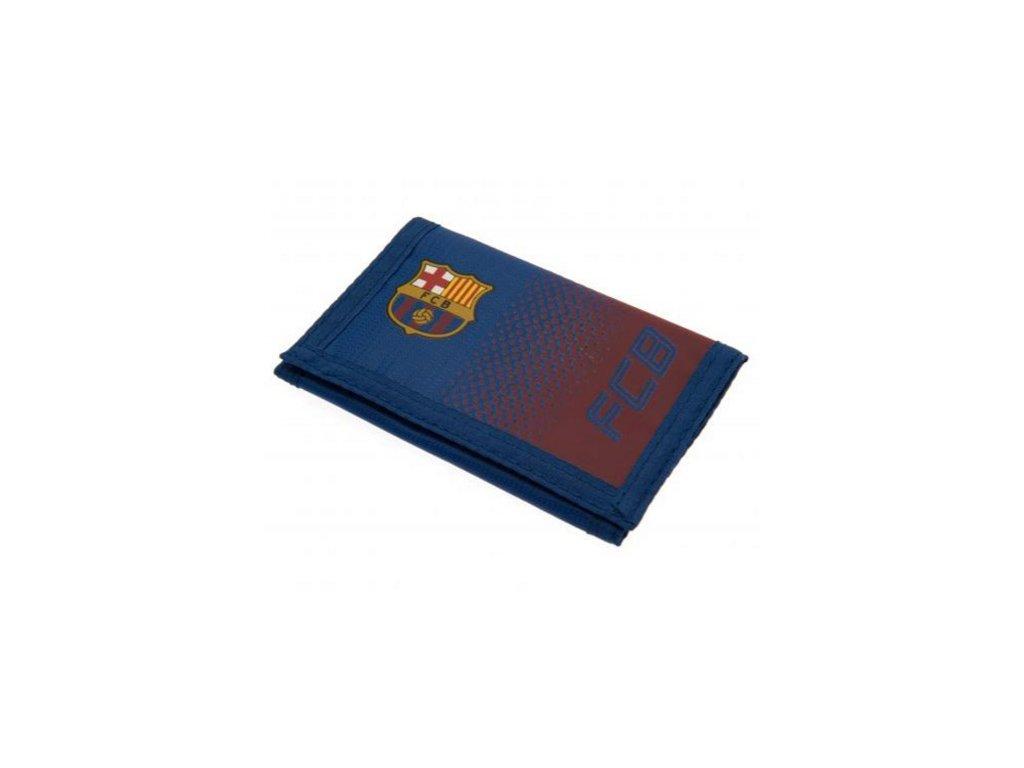67598 penezenka fc barcelona fade 12 x 8 cm modra polyester