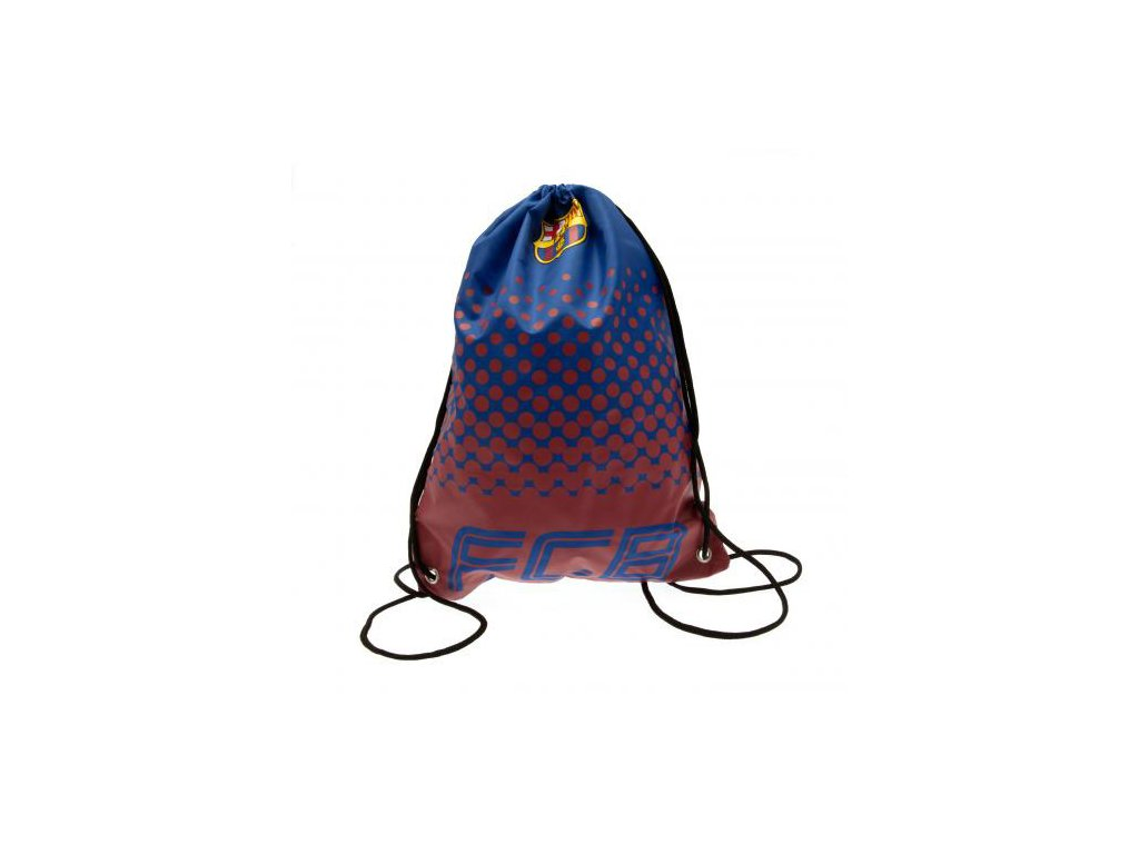 67586 batoh pytlik se snurkami gym bag fc barcelona fade 33 x 44 cm objem 14 5 l modry polyester