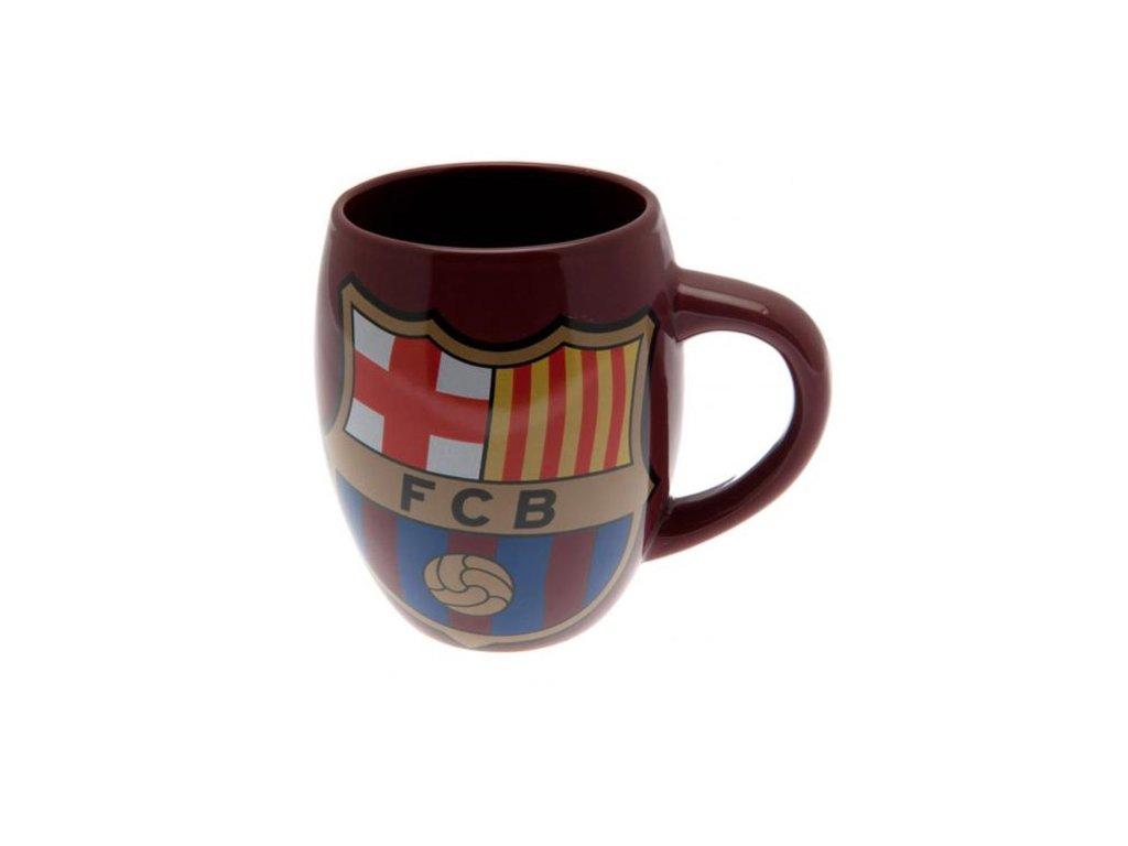 67927 keramicky hrnek fc barcelona tea tub objem 450 ml vinovy
